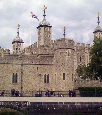 Tower of London (from the boat)