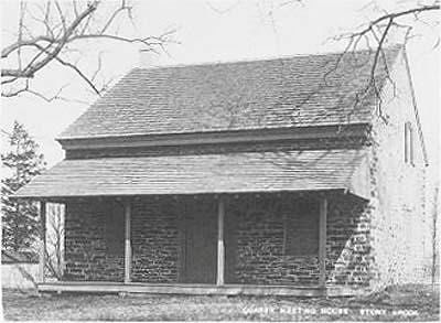 Stoney Brook Meeting House and Historic postcard