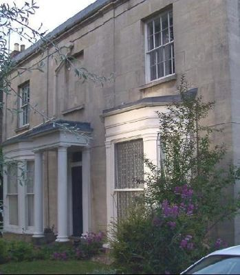 Cheltenham house facade