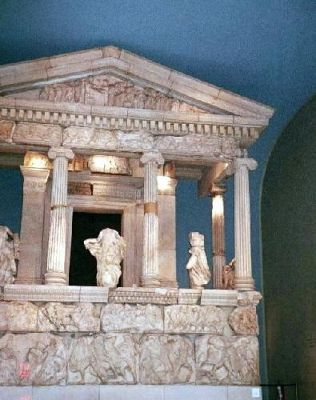 Reconstruction of the Nereid monument