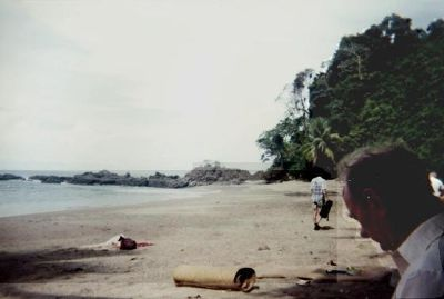 Beach at Canos Island