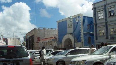 Parking lot - Bridgetown