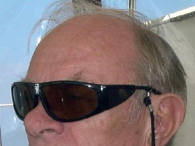 Bob in sunglasses, but not from Barbados