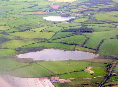 Flying in to Shannon