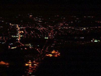 Taking off at night-finally