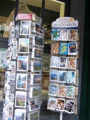 Postcard racks