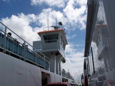 Ferry control room