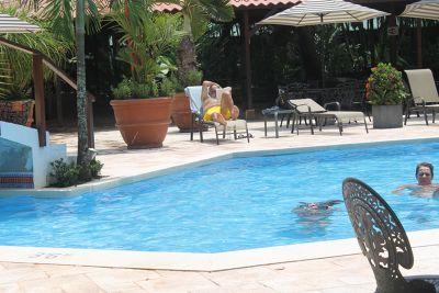 Pool during the day at Mawamba