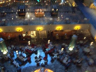 Lobby from the elevator