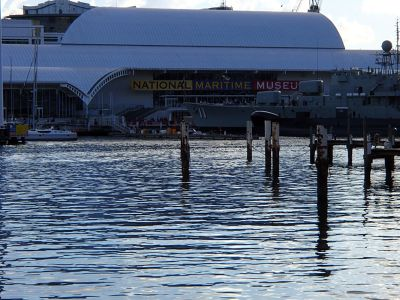 Maritime Museum from the other side of the harbour