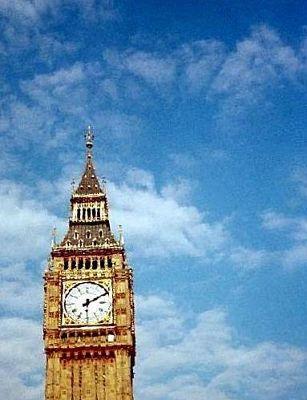 Clock Tower in the sun