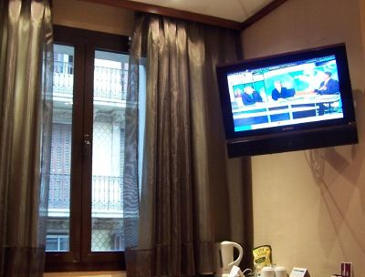 Window and TV