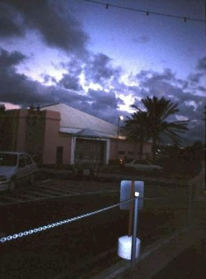 1995 at dusk on way back to hotel