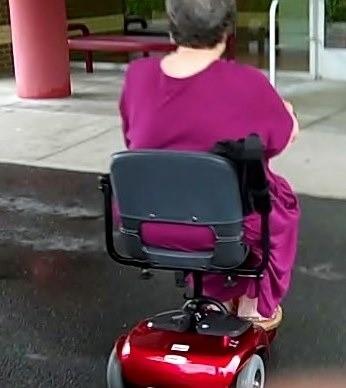Riding off