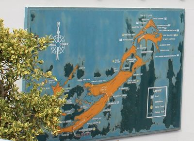 Map at the lighthouse