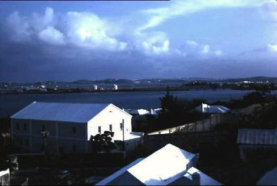 1963 from St. Georges hotel toward airport