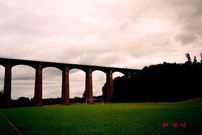 Aqueduct from the soccer field