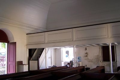 Inside Steeple Building