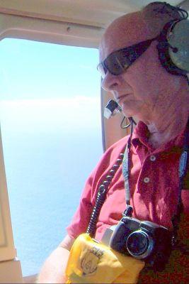 Bob looking out the window - Montserrat