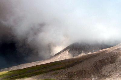Ash clouds - Montserrat