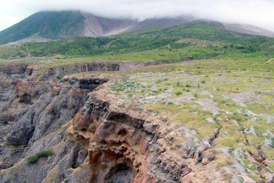 Cliff edge - Montserrat