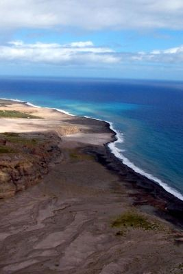 black sand beaches - Montserrat