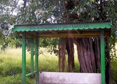 Bus shelter - Antigua