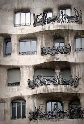 """Casa Mila"" by Gaudi"