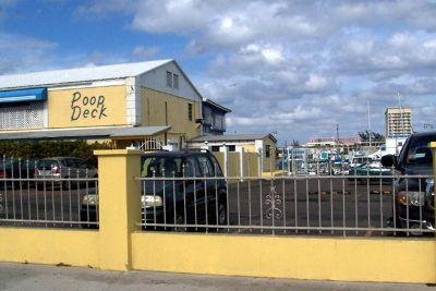 Poop Deck Restaurant from the street