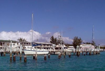 South end of north Bimini docks