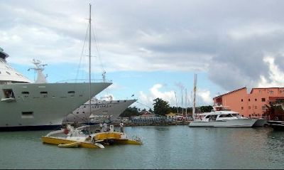 Other ships in port