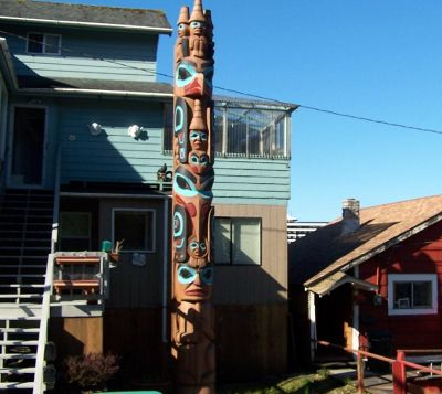 Totem from the Duck