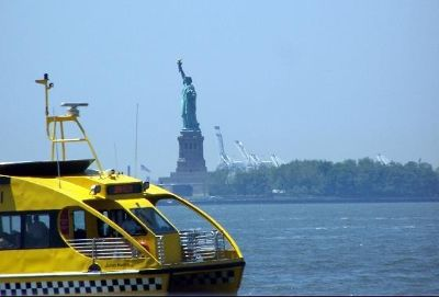 From lower Manhattan - Statue of Liberty National Monument