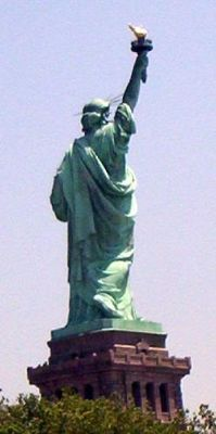 Grandson's photo of the Statue of Liberty National Monument