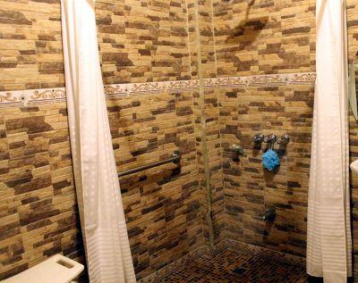 Shower for handicapped