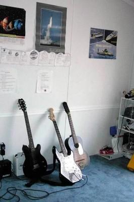 Grandson's guitars
