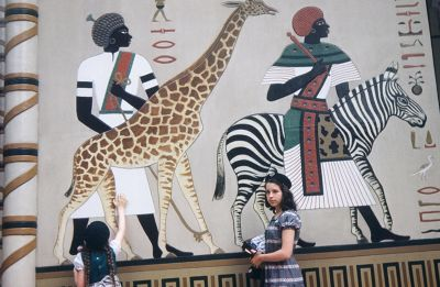 Mural in the zoo
