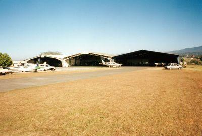 Airport hangers in 1996