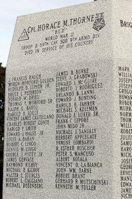 Fairview Cemetery Veterans Monument
