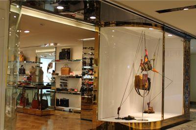 Georg Jensen and handbag shop