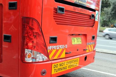 The back of the HOHO bus