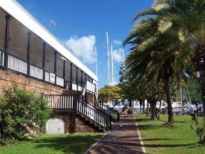 Dockyard building similar to the museum