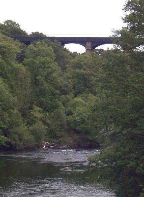 Aqueduct from road bridge