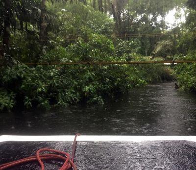 Low bridge - regular boats can't pass
