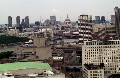 St. Pauls and Oxo tower