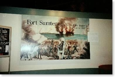 -Part_of_exhibit_in_the_visitors_center-Fort_Sumter_National_Monument