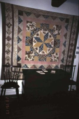 Quilt exhibit in 1995