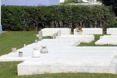 Church Cemeteries in Sandy's Parish
