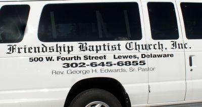 Friendship Church van