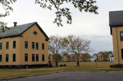 Buildings at Fort Hancock